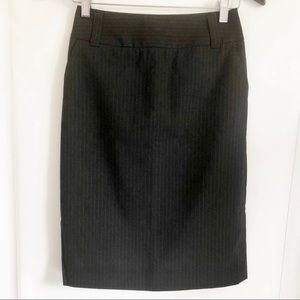 Banana-republic Petite Washable Wool-Blend Skirt